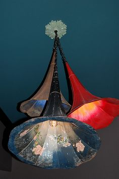 Phonograph horn chandelier