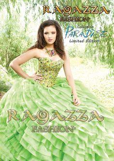 vestido de xv años Ragazza fashion