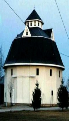 Probably the most unusual barn I've ever seen!