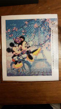 Mickey and Minnie diamond dotz