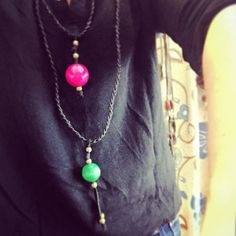 #collares #porencargo para #granamigamejorpersona. Enviamos a domicilio. #felizsabado todo en @latentaciondevioleta