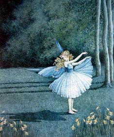 """Ida Rentoul Outhwaite, """"The Shadow""""  At least hers stayed put, unlike Peter's. :)"""