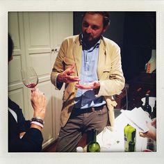 Marco Cecchini at last night's Una Piccola Festa at Studio TEW