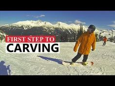 First Step to Carving on a Snowboard - YouTube