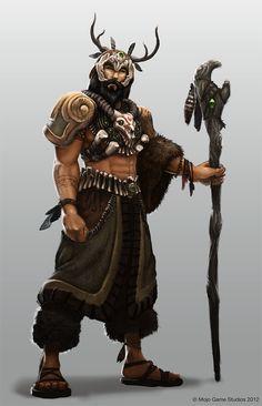 Beastmaster/shaman iets