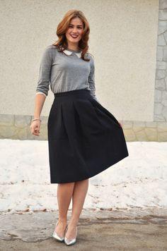 bornlippy // lady like skirt