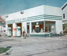 vintage cities service gas station - Google Search