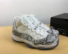 hot sale online 3783b e1cd5 Fashion Air Jordan 11 High Retro White Snakeskin 2018 - Mysecretshoes Jordan  11 For Sale,