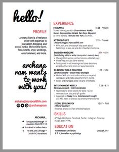 freelance writer resume google search - Freelance Writer Resume Sample
