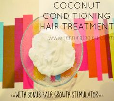 Coconut Conditioning Hair Treatment…..Plus Dandruff Remedy