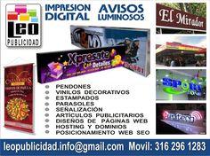 Estampados y Publicidad Manizales: LEO - Agencia de Publicidad en Manizales Leo, Future Gadgets, New Trends, Advertising Agency, Lion