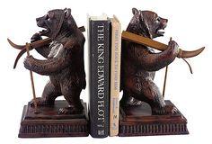 bear book ends
