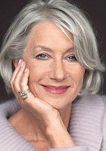 Helen Mirren. Lovely lady, lovely hair.