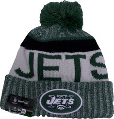 e2751d58b 2017 NFL Sideline New York Jets On Field Sport Knit Beanie Bobble Hats
