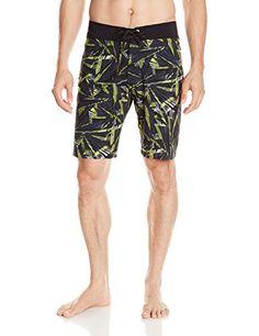 37ad70b91a Amazon.com: Volcom - Mens Mod-Tech Prt Boardshorts, Size: 40, Color: Black:  Clothing