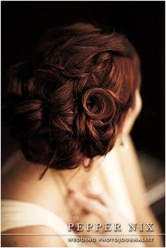 bridal hair idea