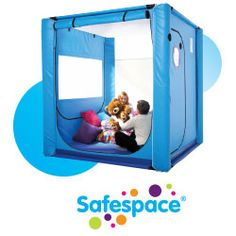 SafeSpaces custom makes living and sleeping spaces for children with special needs, such as autism or other issues. These spaces can be beds or entire rooms that are safe and padded.
