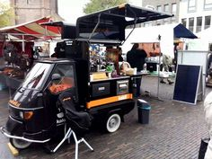 vending bruschetta on a vintage piaggio van? yes you can. buy an