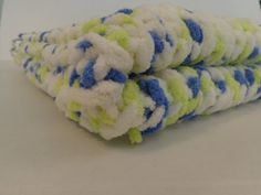 Knitted Baby Blanket   Little Confetti by PolkaDotKreations, $40.00