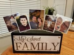 Photo Gifts - Thank you Shanty 2 Chic for the idea.  Was so easy and my neighbors loved it.