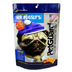 Petguard Mr. Pugsly's Peanut Butter Dog Biscuits - 341g