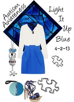 """""""Autism Awareness"""" by arabicacup on Polyvore"""
