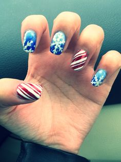 Snowflakes & candy canes!