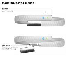 Jawbone Up Light Indications