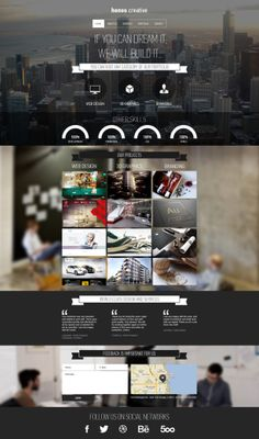 honos creative by Creative Monkeys, via Behance