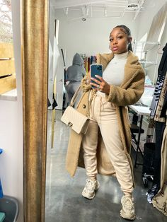 Baddie Outfits Casual, Chill Outfits, Cute Swag Outfits, Dope Outfits, Stylish Outfits, Black Girl Fashion, Look Fashion, Winter Fashion Outfits, Autumn Winter Fashion