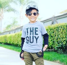 """""""THE GUY"""" Toddler T-shirt by Wee Monster.  www.weemonster.net"""