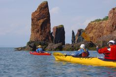 Kayaking the Worlds Highest Tides in the Cape Chignecto Area of Nova Scotia