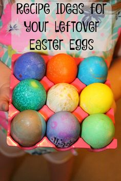Recipe Ideas for your Leftover Hard Boiled Easter Eggs - a collection of 12 delicious recipes!