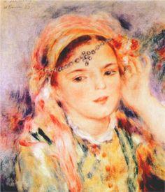 Algerian Woman - Pierre-Auguste Renoir