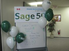 Sage 50 launch parties happened all across Canada in Fall 2012.