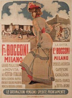Aleardo Villa F.lli Bocconi Milano, 1898
