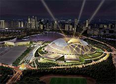 Architektur und Sport - die 10 schönsten Stadien und Sportstätten der Welt  - #Architektur
