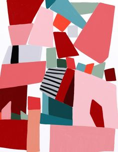pink blocks, ophelia pang
