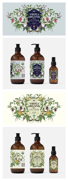 Organic skincare labels - Illustration by Charlotte Day
