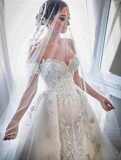 Custom Wedding Dresses and Bridal Gowns from The USA Cheap Lace Wedding Dresses, Stunning Wedding Dresses, Custom Wedding Dress, Formal Dresses For Weddings, Backless Wedding, Wedding Dress Styles, Dream Wedding Dresses, Bridal Dresses, Steven Khalil Wedding Dress