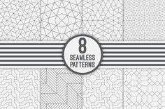Seamless geometric backgrounds - Patterns - 1