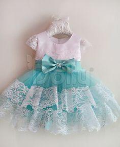 Платье Алисия бирюзовое