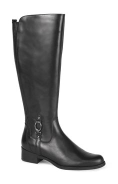 Vallera - Fall - Winter - Women - Boots | Blondo Canada  Material: leather Waterproof Inside zip Back elastic gore Leather lining Natural rubber outsole