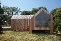 h2o architects' Timber La Cabotte Cabin Complements Southern France's Rolling Vineyards   Inhabitat - Green Design, Innovation, Architecture, Green Building