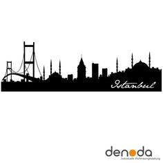 www.denoda.de bilder produkte gross istanbul-skyline-wandtattoo_b2.jpg