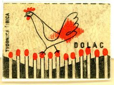 Match Box Label, Dolac