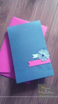 Carte félicitations pour un mariage http://www.mainsetmerveillesdeco.fr/