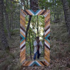 Wooden Barn, Wooden Wall Art, Wood Pallet Art, Wood Art, Beach House Decor, Diy Home Decor, Indie Bedroom, Diy Bed Frame, Natural Bedding