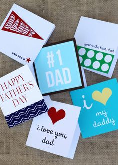 Free fathers day card printables via tomkat studio for dad - father's day gifts Happy Fathers Day Dad, Daddy Day, Fathers Day Crafts, Daddy I Love You, Free Printable Cards, Free Printables, Father Knows Best, Father's Day, Thing 1