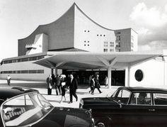 Die Berliner Philharmonie 1963. Foto: Ilse Buhs
